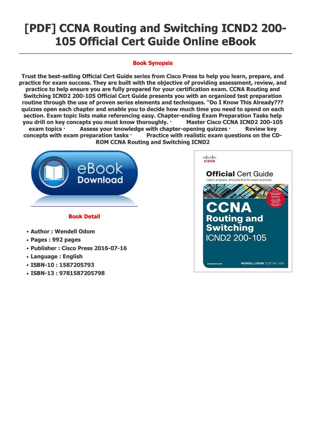 Ccna Book Cisco Press