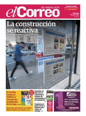 24.01.2018 El Correo de Andalucía by EL CORREO DE ANDALUCÍA S.L. - issuu 5de3bf3183e
