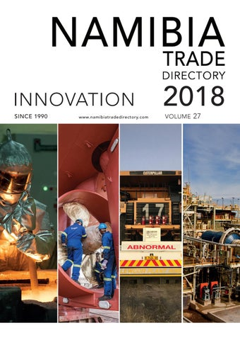 Namibia Trade Directory 2018 By Venture Media Issuu