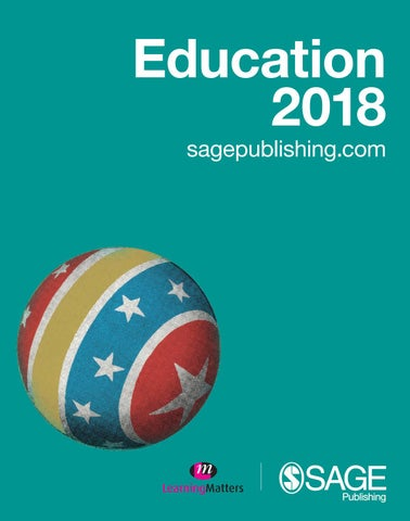 Sage education2018 by scientific books information issuu page 1 fandeluxe Gallery