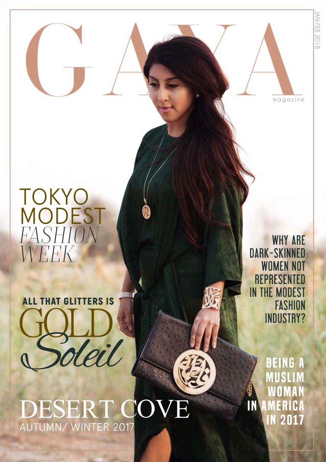 f7e53decd4b GAYA Magazine January 2018 - Hijab   Modest Fashion for today s Muslim  woman by GAYA Magazine - issuu