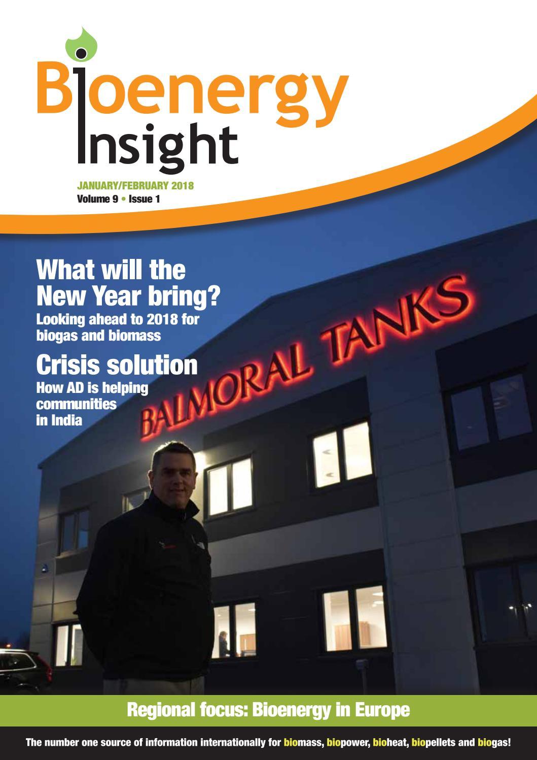 Bioenergy Insight January/February 2018 by Woodcote Media ...