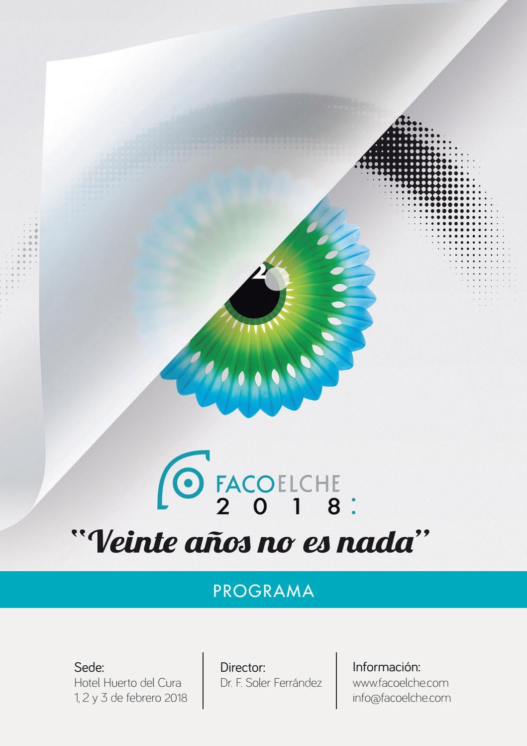 fac3106c4af2f FacoElche 2018  Veinte años no es nada • Programa Final by FacoElche - issuu