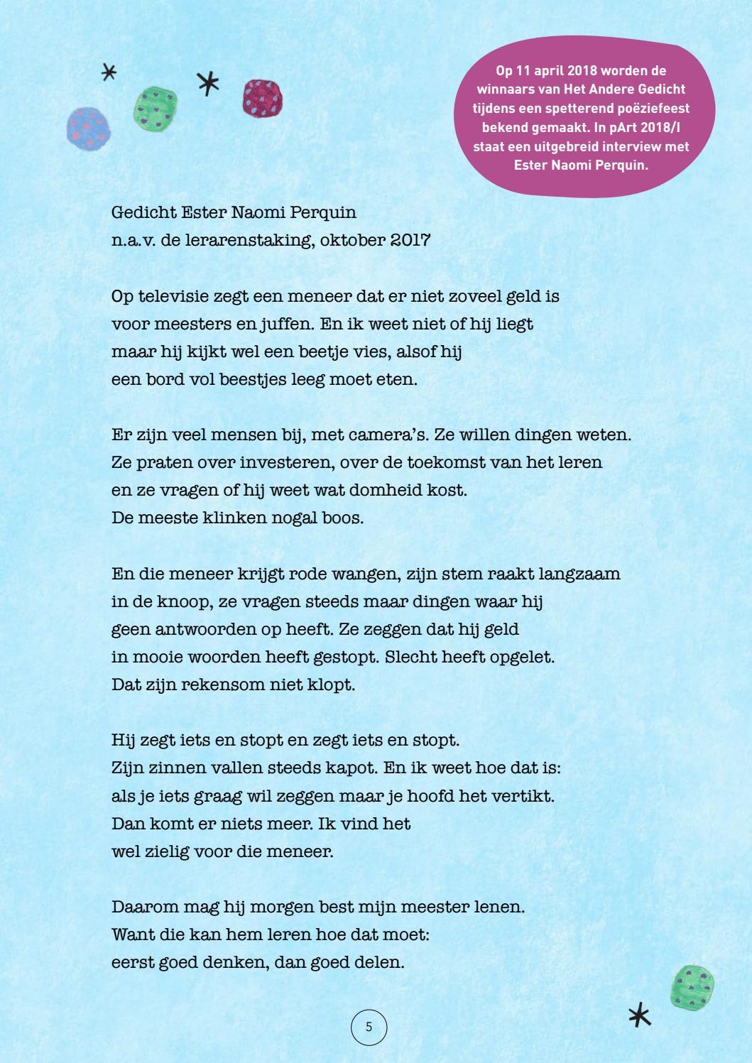 Nieuw Het Andere Gedicht Groeimagazine editie januari 2018 by ONO-ONO SR-91