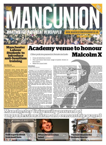 Issue 8 By The Mancunion Issuu