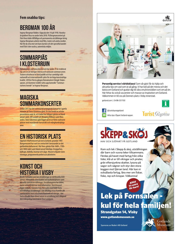 Gotland 2018 by Kusinerna - issuu