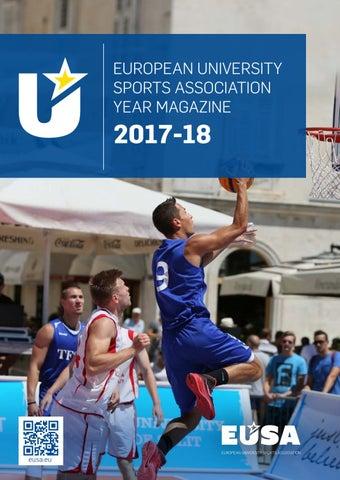 febe38259e EUSA Magazine 2017-18 by EUSA - European University Sports ...