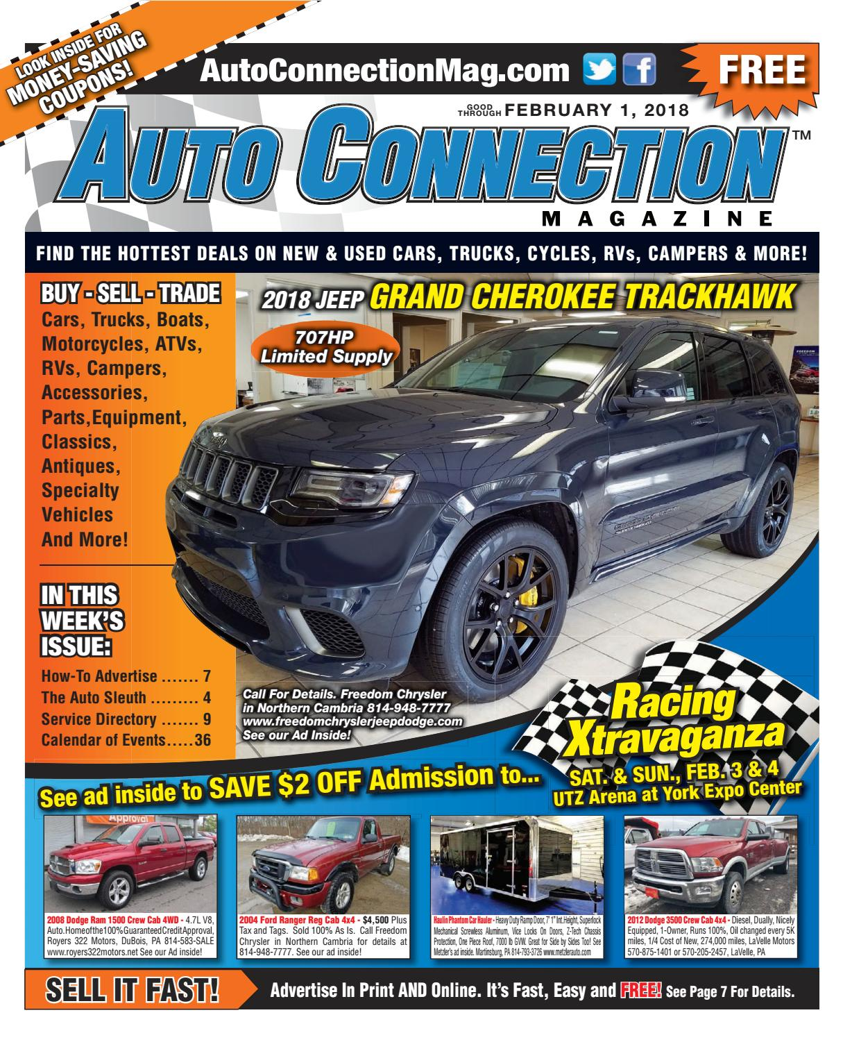 02-01-18 Auto Connection Magazine by Auto Connection Magazine - issuu