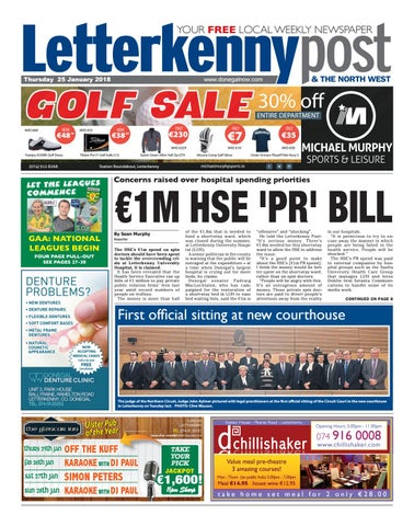 Letterkenny post 25 01 18 by River Media Newspapers - issuu