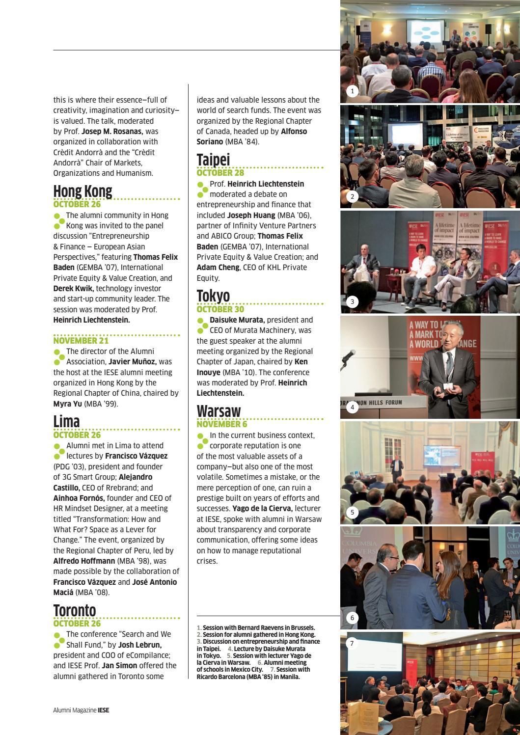 IESE Alumni Magazine  Num  148