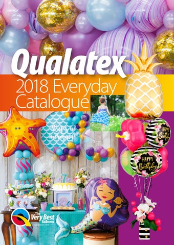 info for c223b 37915 2018 Qualatex PEL Everyday Catalog by Pioneer Balloon Company - issuu