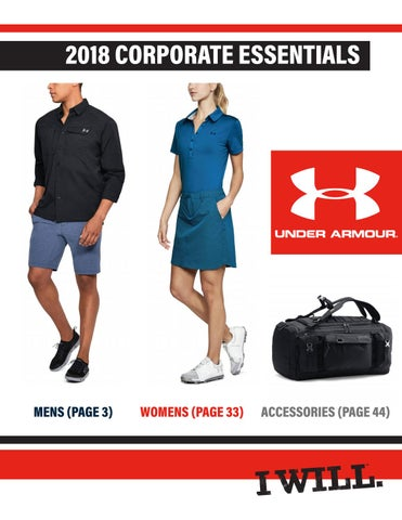 522cadeb7 2018 Under Armour Corporate Essentials Guide by US Performanceworks ...