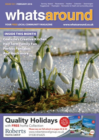 813402d2fcdd Whats Around Magazine February 2018 by Ibstock Life - issuu