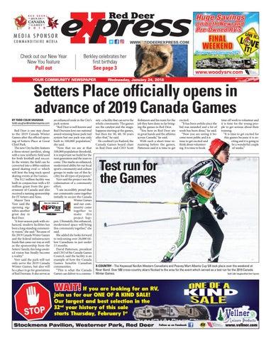 Red Deer Express, January 24, 2018 by Black Press Media
