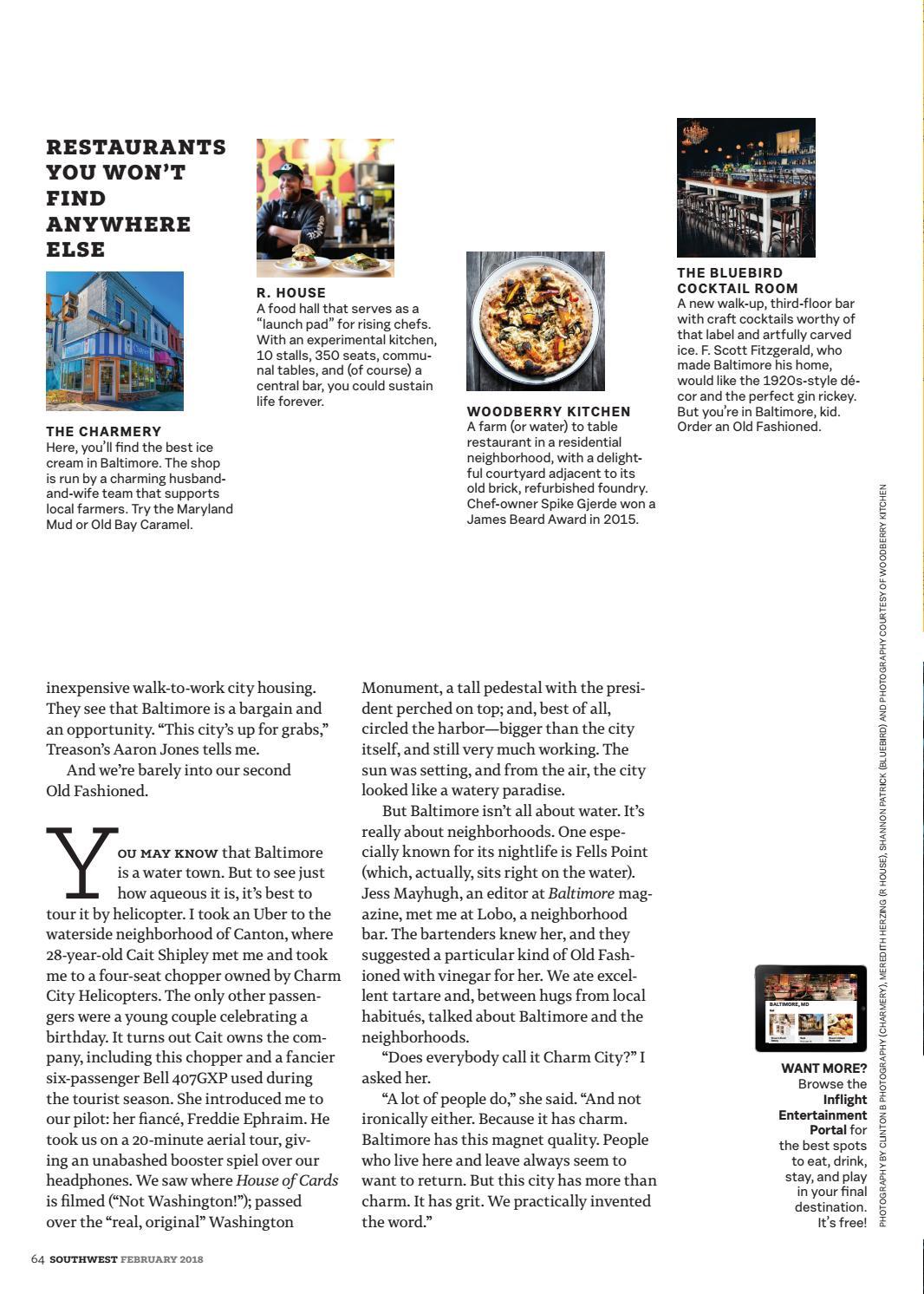 February 2018 by Southwest: The Magazine - issuu