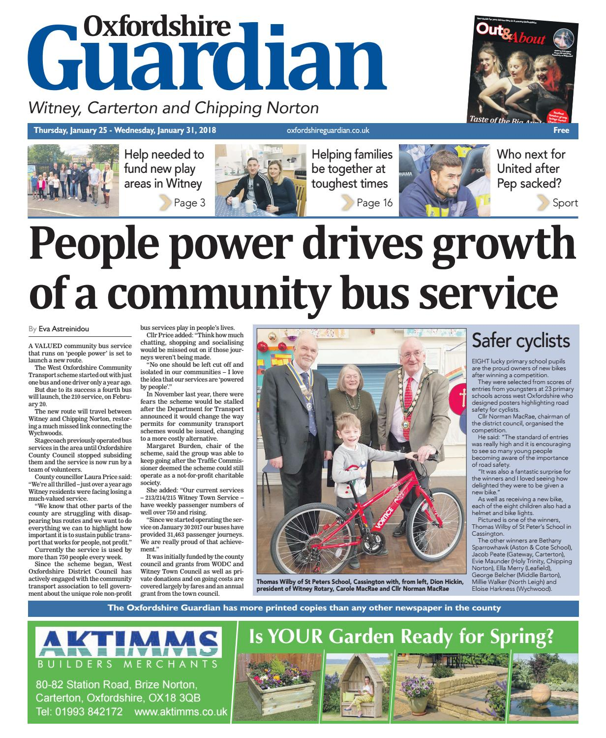 25 january 2018 oxfordshire guardian witney by taylor newspapers issuu fandeluxe Gallery