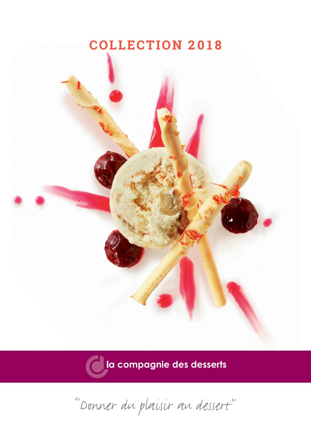 Catalogue 2018 France by La Compagnie des Desserts , issuu