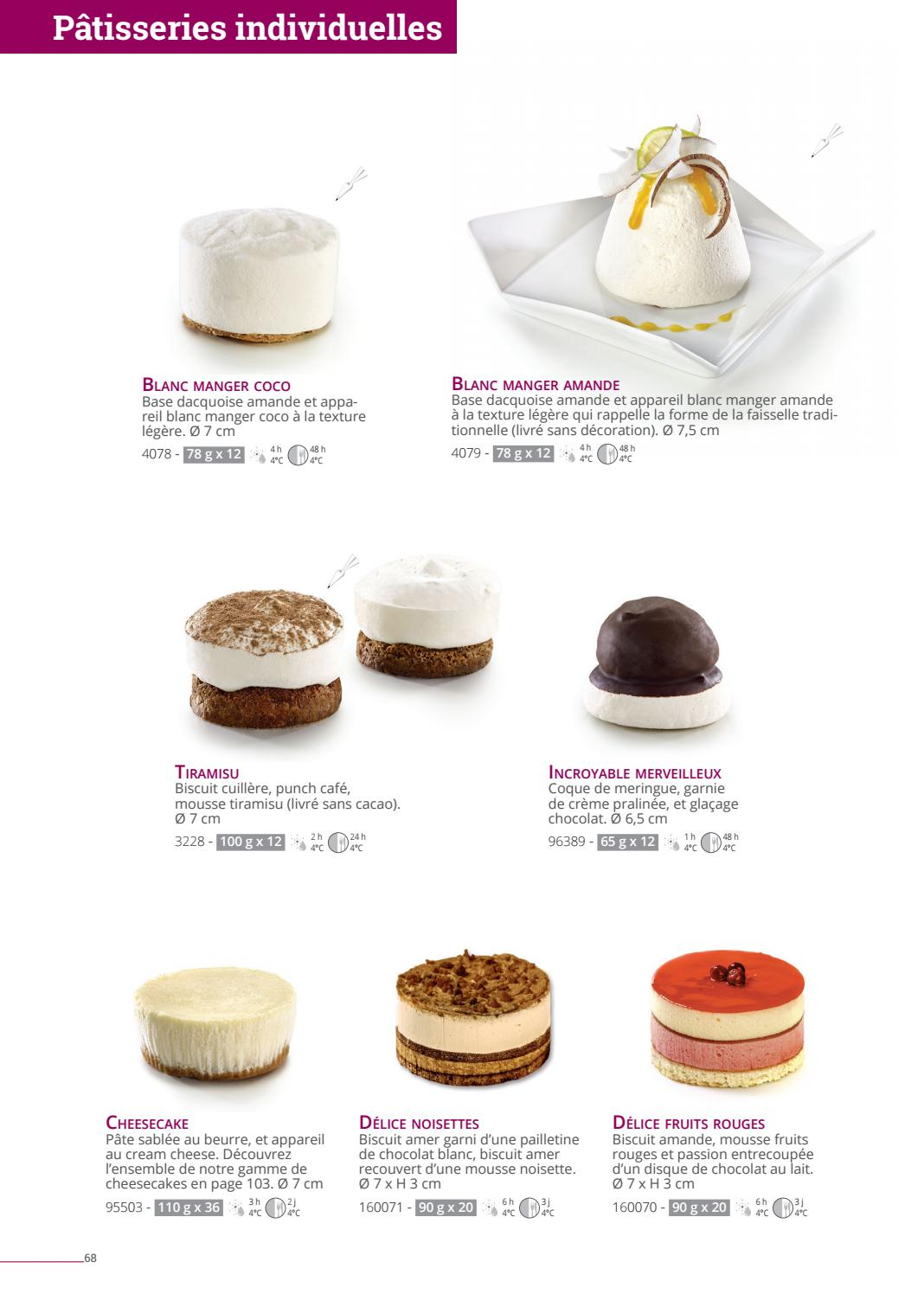 Catalogue 2018 France By La Compagnie Des Desserts Issuu