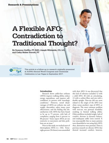 Page 16 of A Flexible AFO: Contradiction to Traditional Thought?