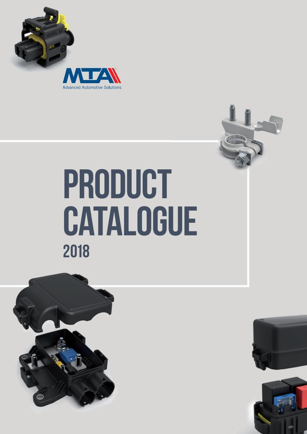 Product Catalogue 2018 By Mtagroup Issuu Mta Relay Fuse Box