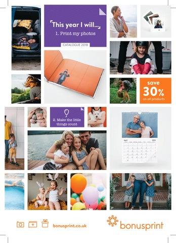 Print my photos catalogue 2018