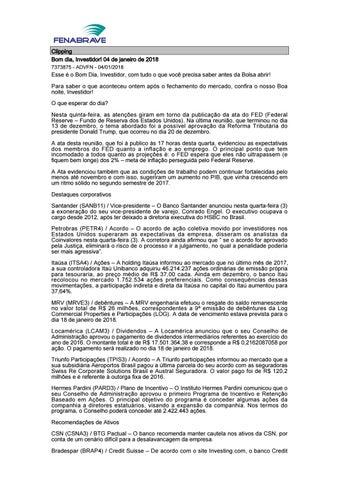 Clipping Fenabrave 04.01.2018 by MCE Comunicação - issuu ea16f5cfee1