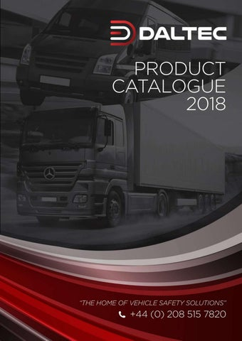 DALTEC 2018 Catalogue