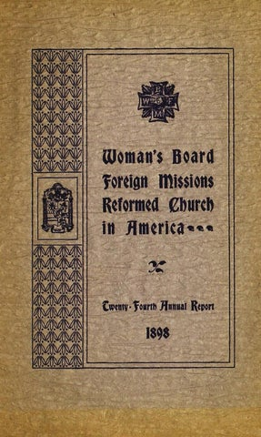 Annual report of the womans board of foreign missions of the page 1 fandeluxe Image collections