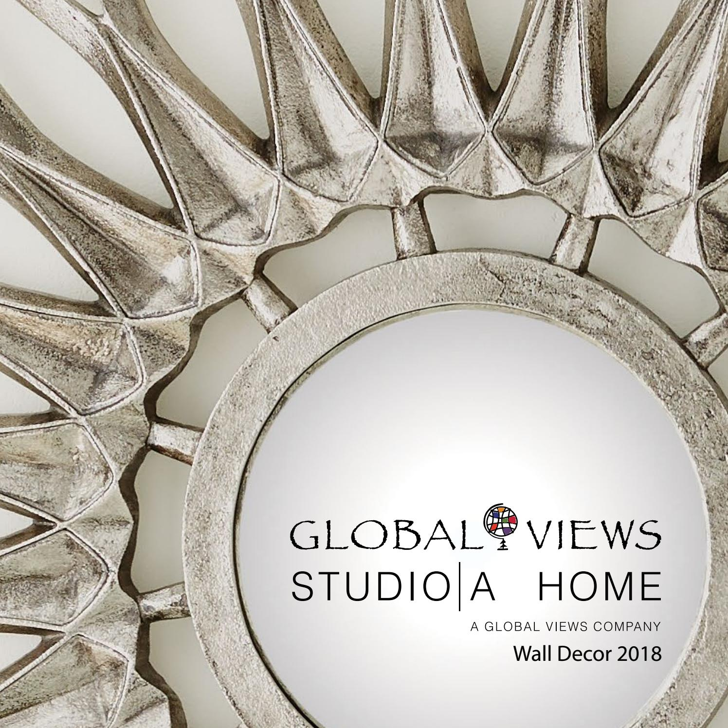 Home Decor Catalogs 2018: 2018 Global Views Wall Decor Catalog By Global Views