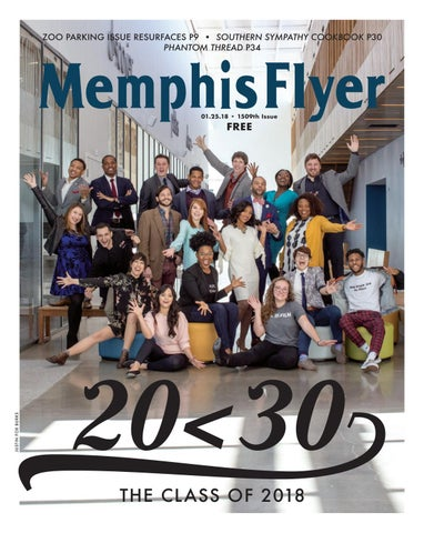 ZOO PARKING ISSUE RESURFACES P9 • SOUTHERN SYMPATHY COOKBOOK P30  PHANTOM THREAD P34