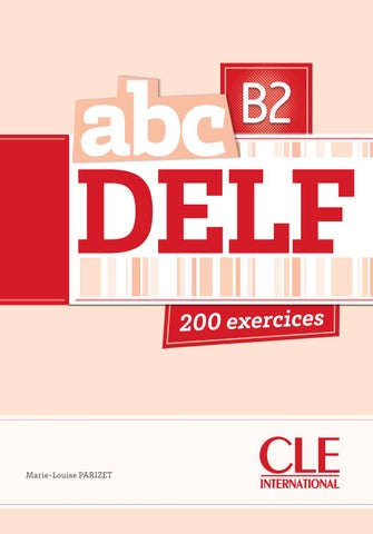 Catalogue cle international 2014 by cle international issuu extrait abc delf b2 fandeluxe Image collections