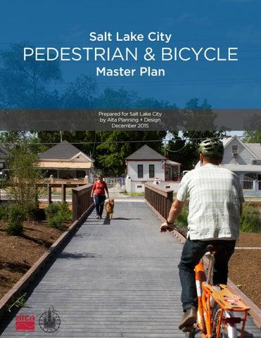 Salt Lake City Pedestrian and Bicycle Master Plan by Alta