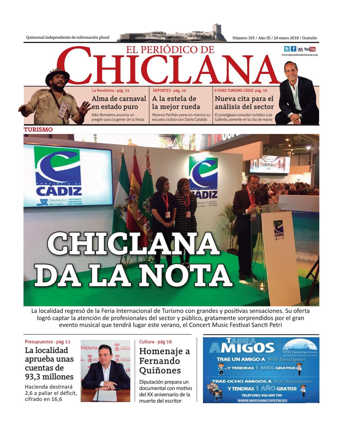 El Periódico de Chiclana nº103 by El Periódico de Chiclana - issuu