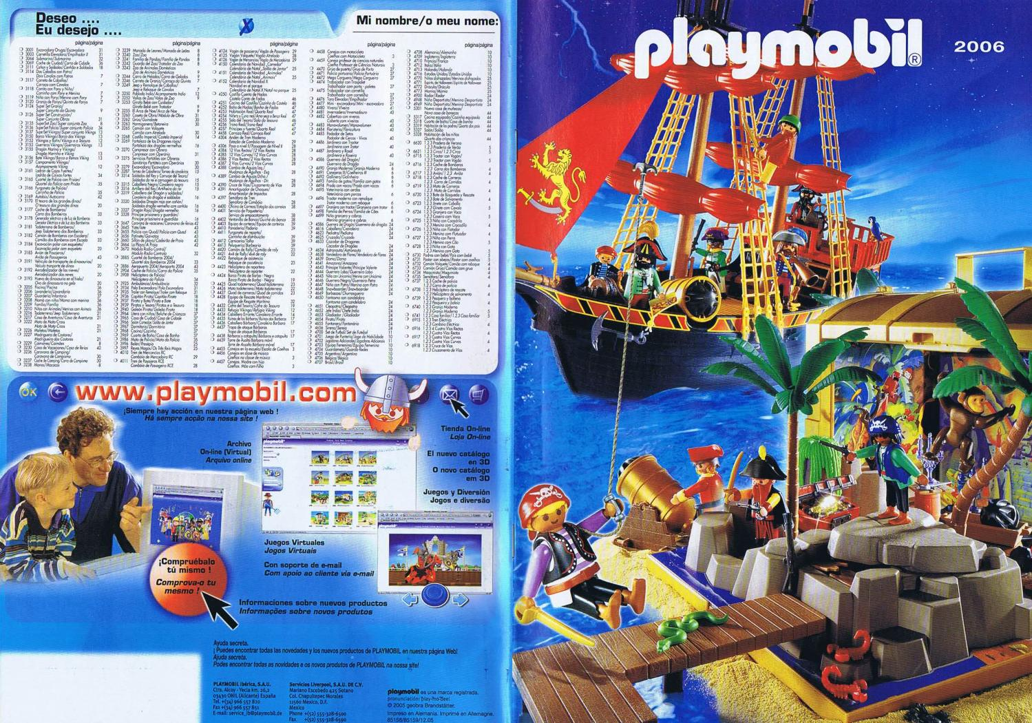 PLAYMOBIL 2009 USA CATALOG WITH SPECIAL 2009 ADD ONS CATALOG NEW-!!!!