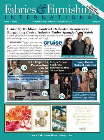 Fabrics Furnishings Spring 2017 Issue By Fabrics Furnishings International Issuu