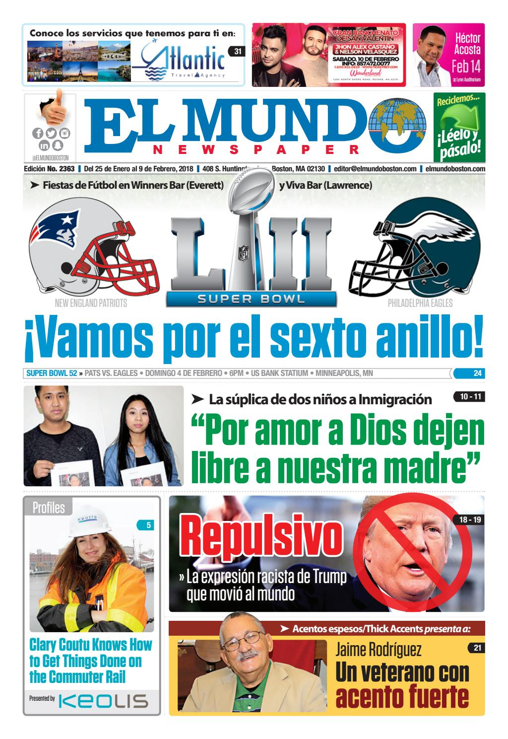 El Mundo Boston | Newspaper | Jan 25, 2018 by El Mundo Boston ...