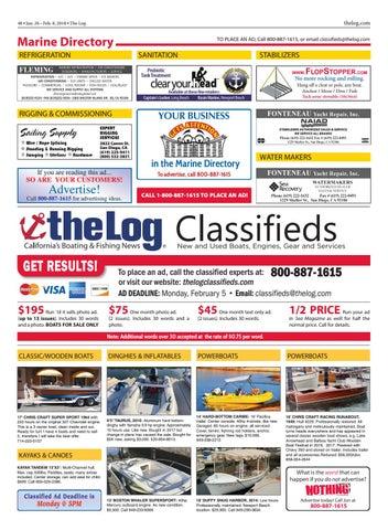 The Log Newspaper – January 26, 2018