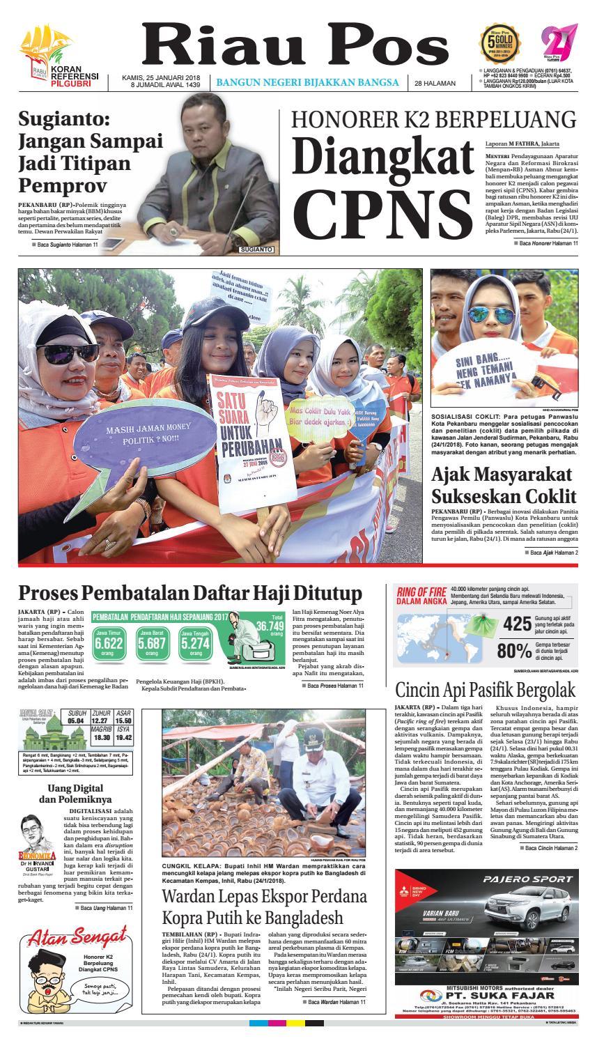 2018 01 25 By Riau Pos Issuu