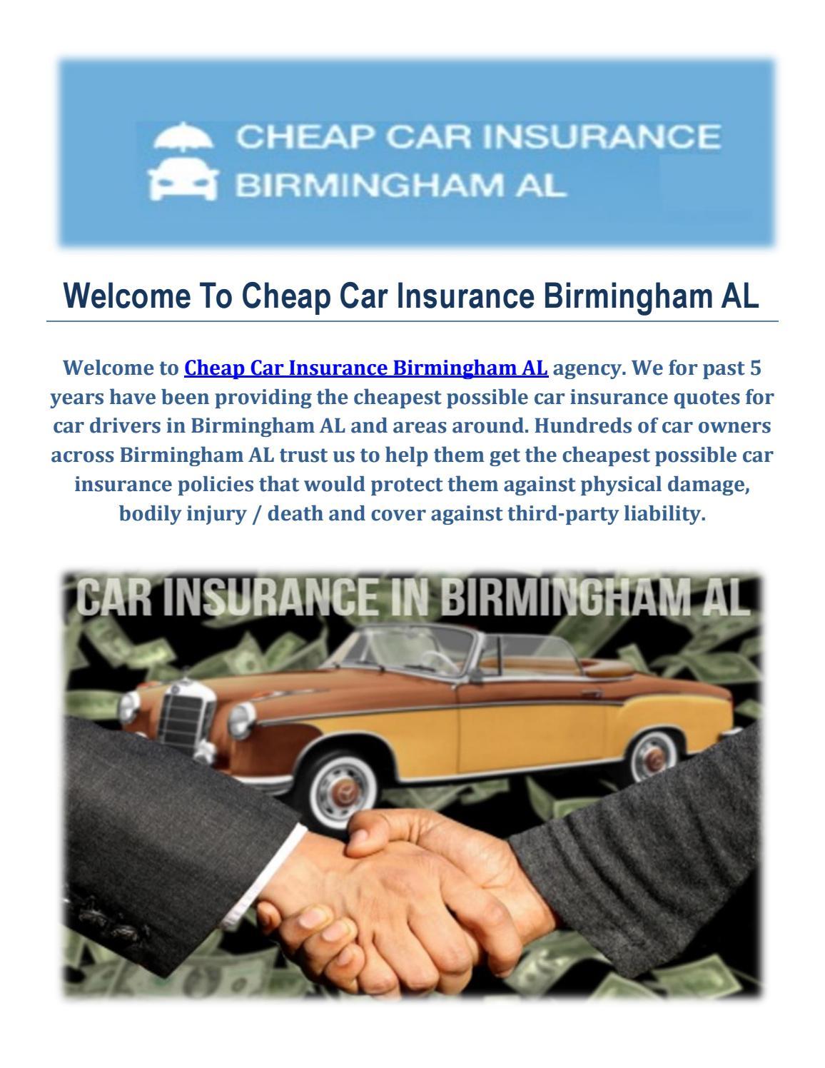 Affordable Car Insurance >> Affordable Car Insurance In Birmingham By Cheap Car