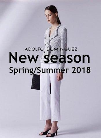 Cat logo adolfo dominguez primavera verano mujer 2018 by for Adolfo dominguez 2018 primavera verano