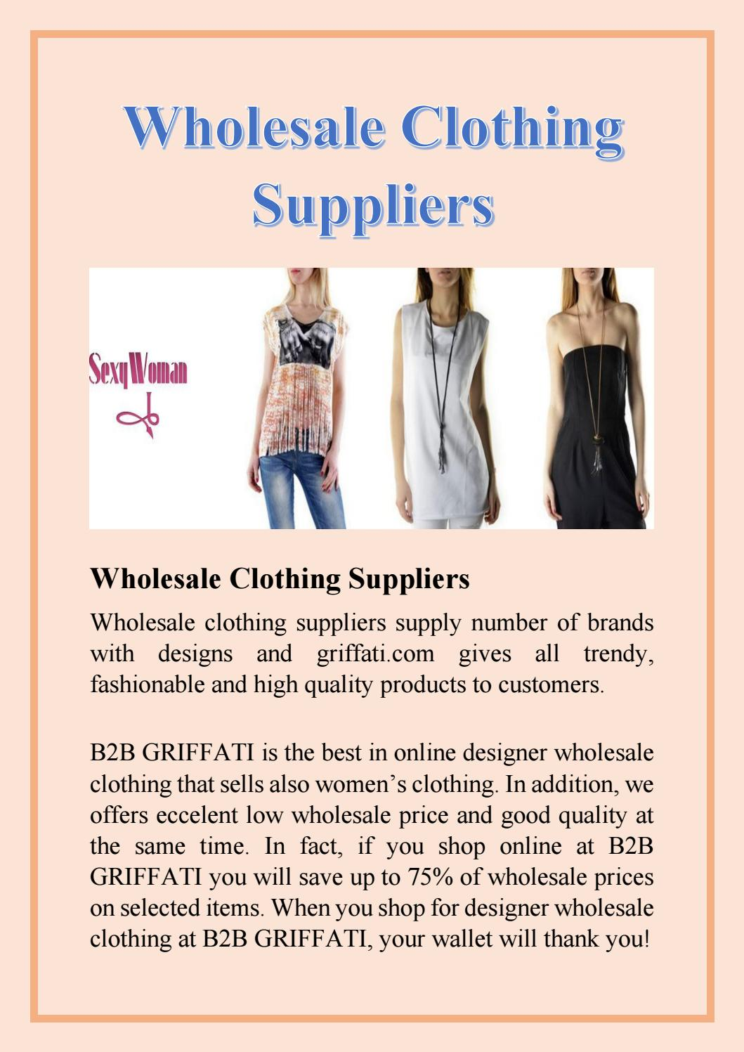 wholesale branded clothing suppliers b2b clothing suppliers