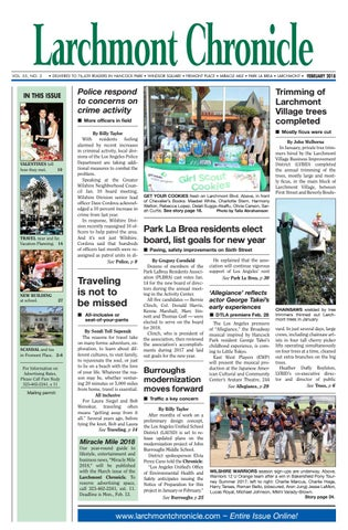 Lc 02 2018 By Larchmont Chronicle Issuu