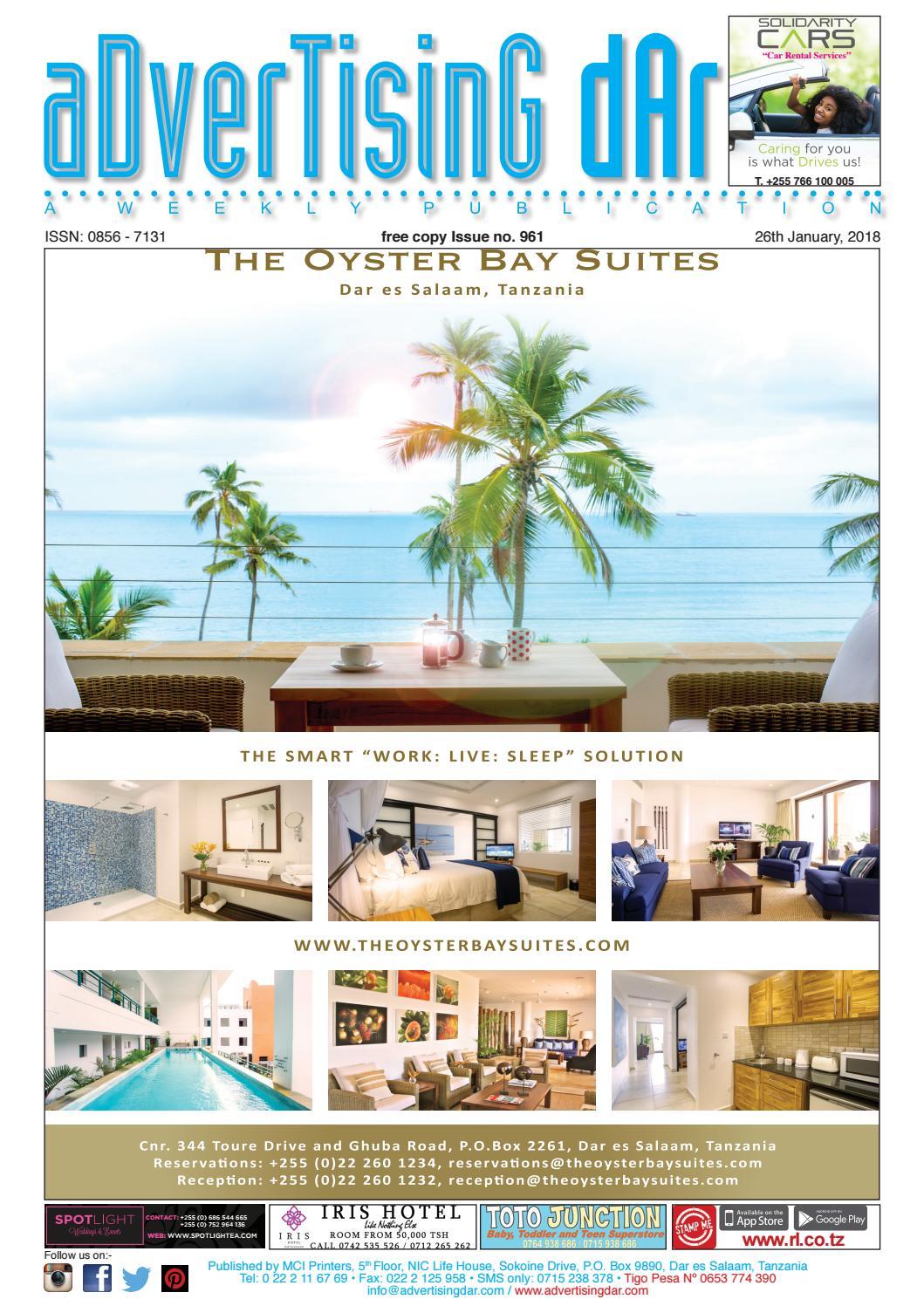 Advertising Dar Issue Nº 961 - 26th January 2018 by Advertising Dar ...