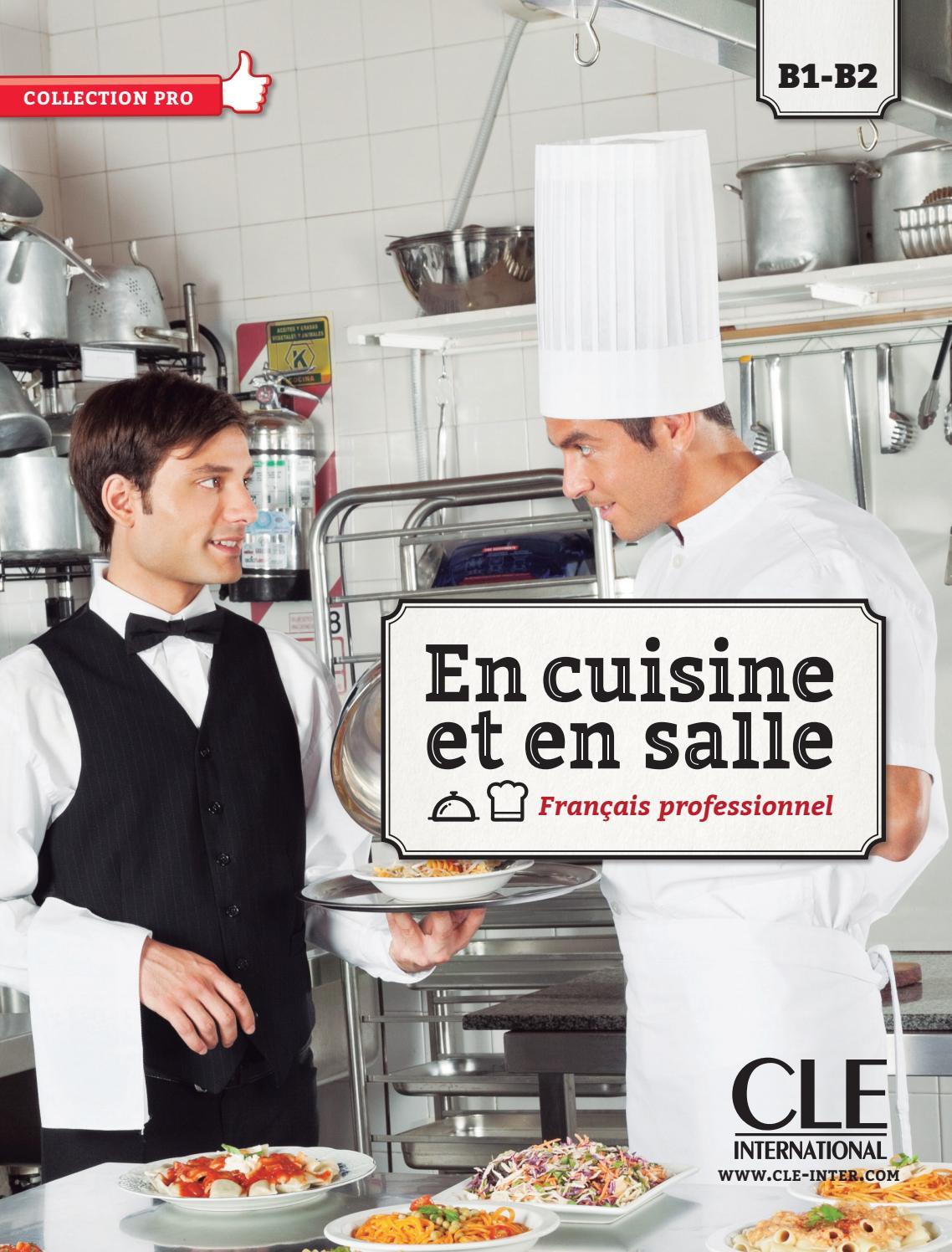Extrait en cuisine et en salle b1 b2 by cle for Recherche apprentissage cuisine