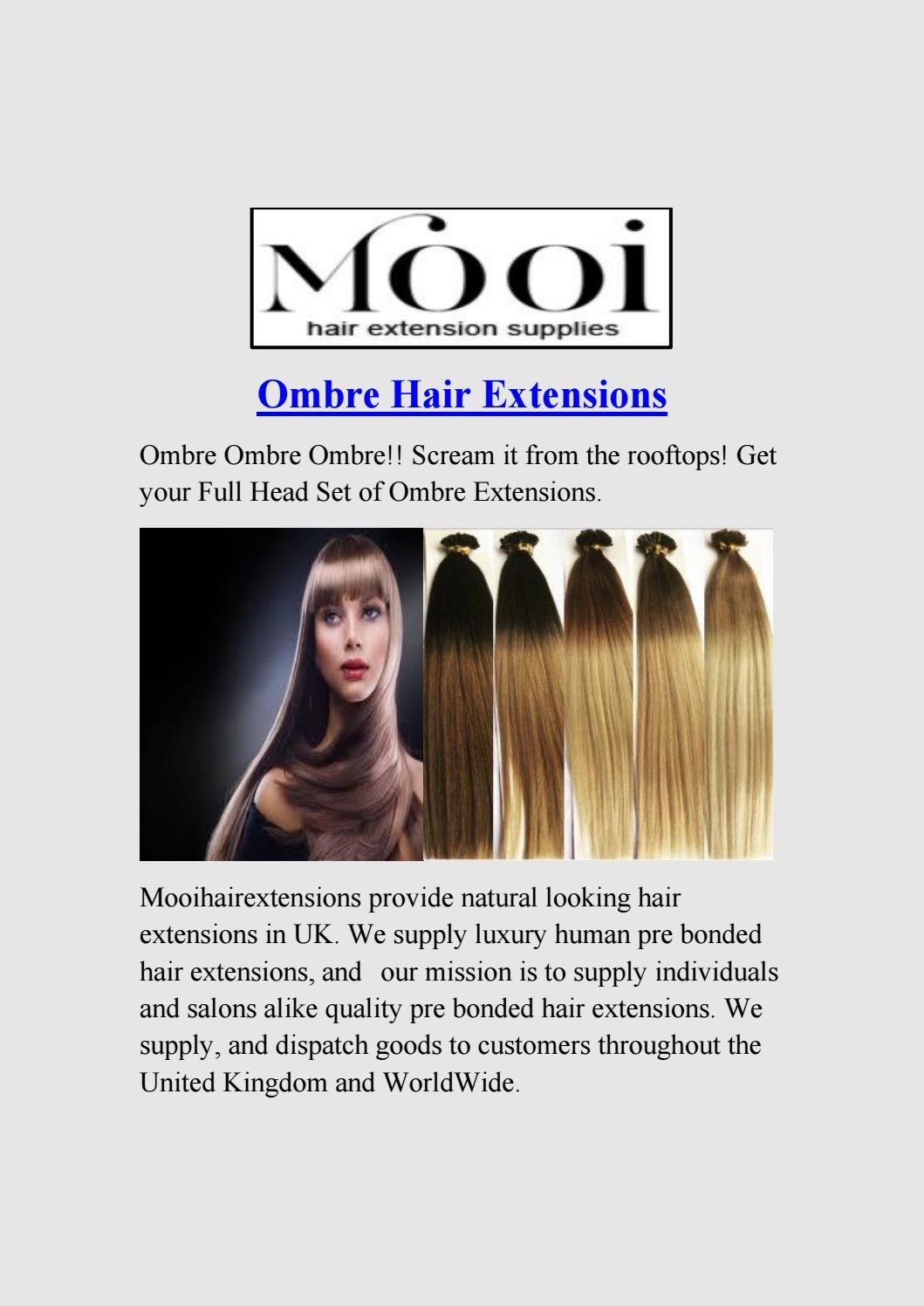 Ombre Hair Extension Mooi Hair Extension Supplies By Mooi Hair