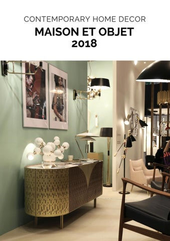 cecile manz the designer of the year at maison et objet 2018