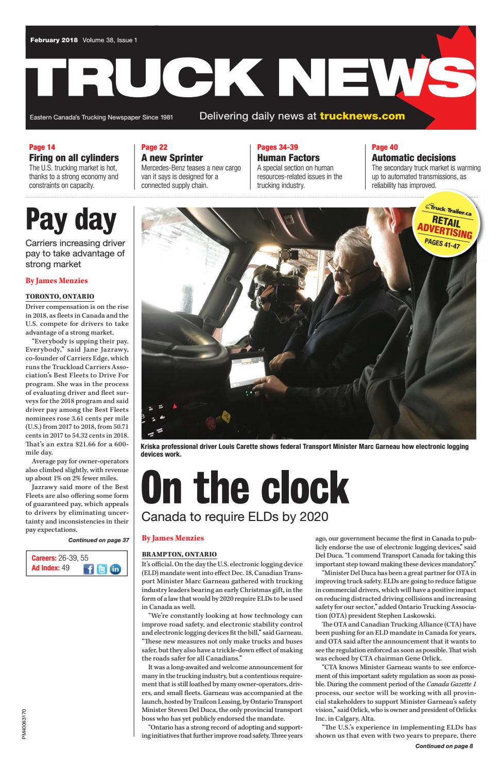Truck News February 2018 by Annex Business Media - issuu