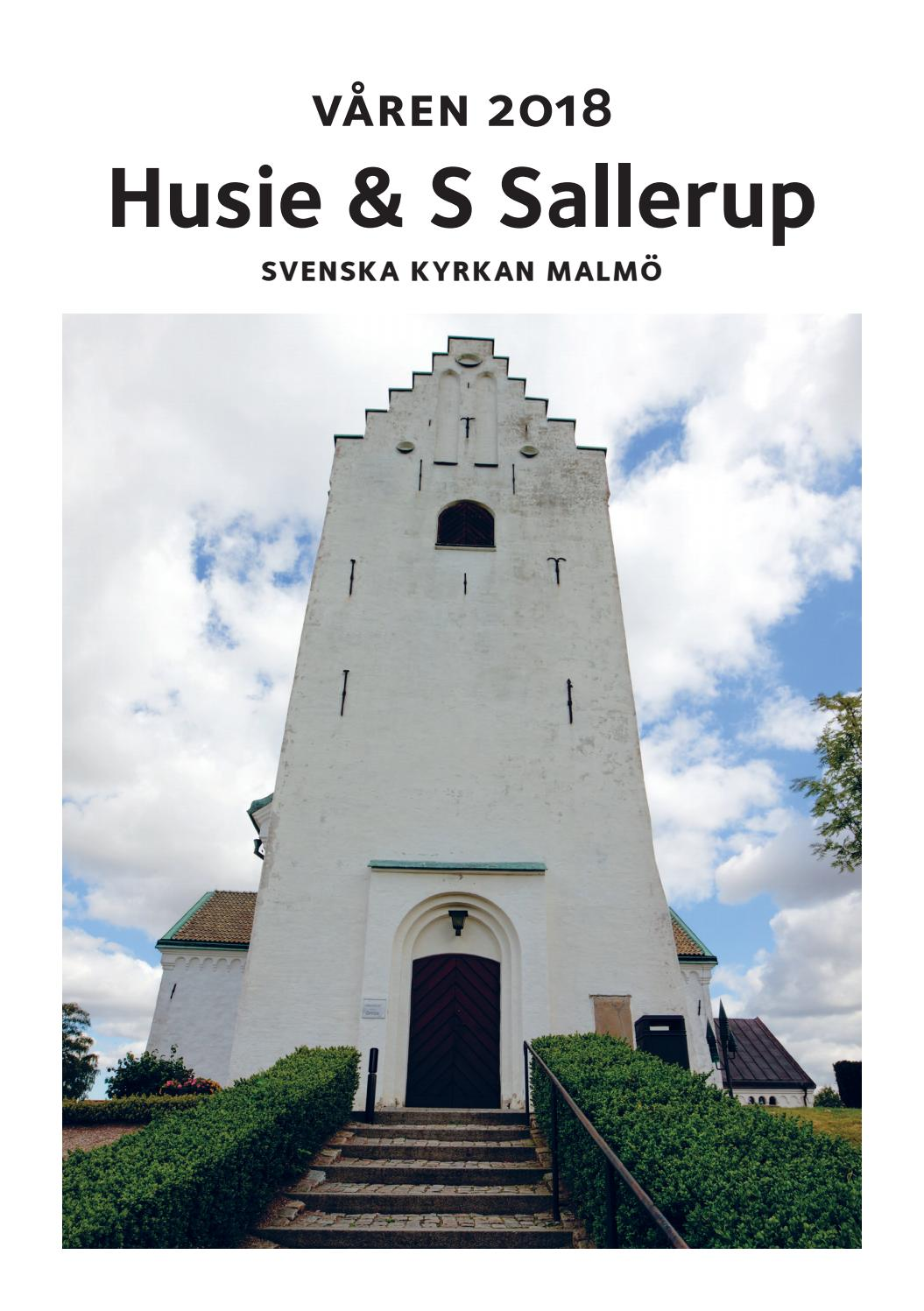 Kyrkblad Husie och Sdra Sallerups kyrkor hsten 2018 by