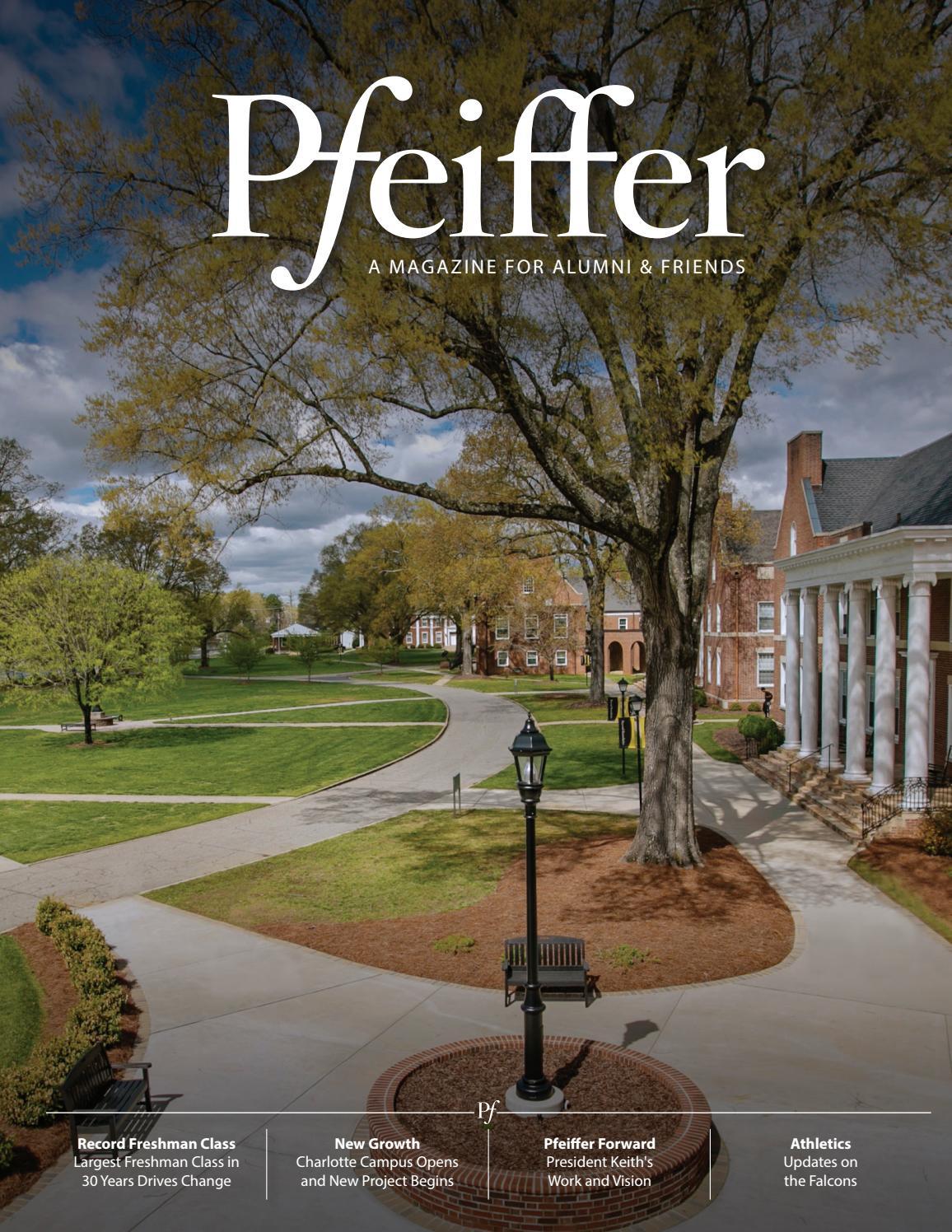 Pfeiffer University Alumni   Friends Magazine 2018 by Pfeiffer University  Marketing   Communications - issuu edb2eea7c4c7a