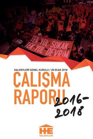 Halkevleri Calisma Raporu Haziran 2016 Ocak 2018 By Halkevleri Issuu